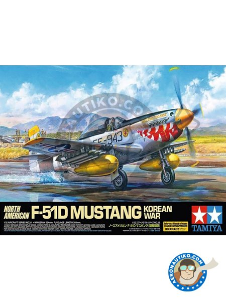 "North American F-51D Mustang ""Korean War"" 