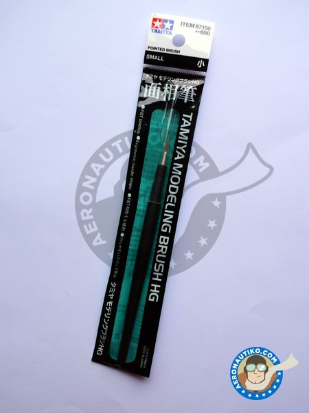 HG Pointed Brush - Small | Brush manufactured by Tamiya (ref. 87156) image