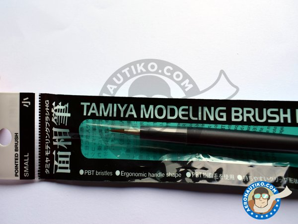 Image 1: HG Pointed Brush - Small | Brush manufactured by Tamiya (ref. 87156)