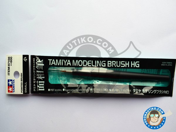 Image 2: HG Pointed Brush - Small | Brush manufactured by Tamiya (ref. 87156)