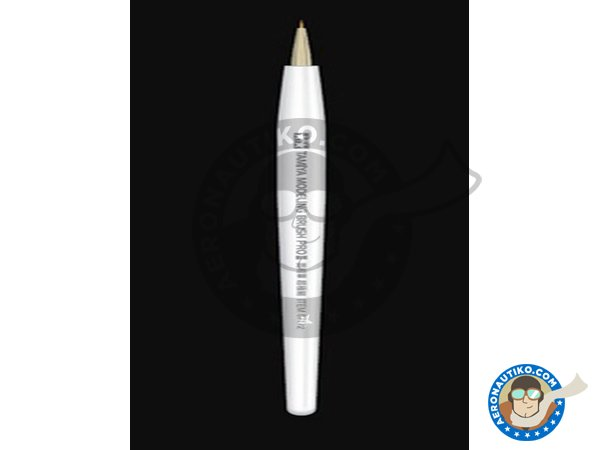 Image 1: Brush Pro II - Pointed - Ultra Fine | Brush manufactured by Tamiya (ref. 87172)