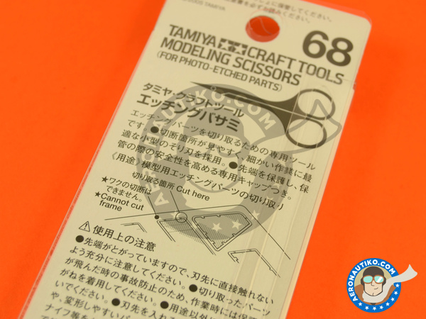 Image 4: Scissors for phoetched parts | Tools manufactured by Tamiya (ref. TAM74068)
