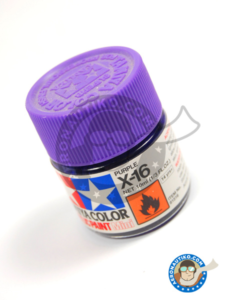 Purple X-16 | Acrylic paint manufactured by Tamiya (ref. TAM81516) image