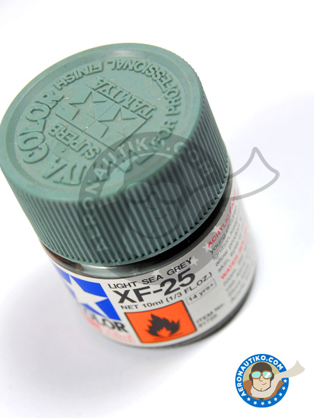 Light sea grey XF-25 | Acrylic paint manufactured by Tamiya (ref. TAM81725) image