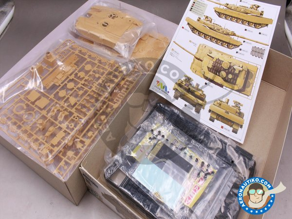 Image 7: LEOPARD II REVOLUTION II MBT | Tank kit in 1/35 scale manufactured by Tiger Model (ref. 4628)