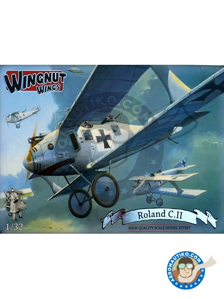 Roland C.II | Airplane kit in 1/32 scale manufactured by Wingnut Wings (ref. 32026) image