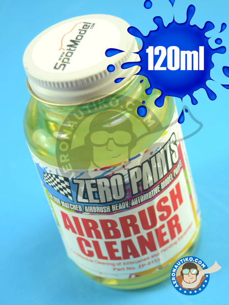 Airbrush Cleaner - 120ml | Acrylic paint manufactured by Zero Paints (ref. ZP-5113) image
