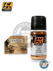 AK Interactive: Acrylic paint - Africa Dust Effects - for all kits