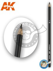AK Interactive: Pencil - Weathering pencil, rubber color. - for all kits