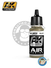AK Interactive: Acrylic paint - RLM 79 | Air Series - 17ml Jar - for all kits