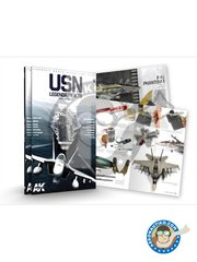 AK Interactive: Book - USN LEGENDARY JETS by Daniel Zamarbide