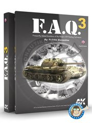 AK Interactive: Book - F.A.Q. 3 Modern military vehicles.