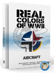 AK Interactive: Book - Book Real Colors of WWII aircraft.