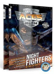 AK Interactive: Model kit - Magazine Aces High Cazas Nocturnos Issue 1 Night Fighters