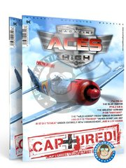 AK Interactive: Book - Magazine Aces High Captured Issue 8