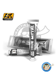 AK Interactive: AK True Metal product - Aluminium - for all kits