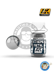 AK Interactive: Xtreme metal paint - Chrome - for all kits image