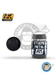 AK Interactive: Xtreme metal paint - Jet exhaust - 30mL Jar image