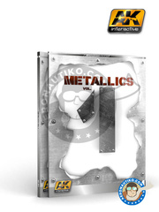 AK Interactive: Book - Metallics Volumen 1 - Learning series 04