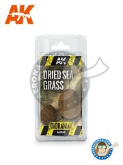 AK Interactive: Textures and Dioramas - Diorama Series: Dried Sea Grass New 2018 - for all dioramas or scenes