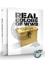 AK Interactive: Book - Real Colors of IIWW. AFV. Military vehicles.