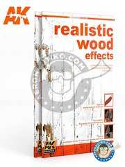 AK Interactive: Book - Realistic wood effects. - 88 pages.