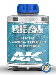AK Interactive: Thinner - Real Colors Thinner. 20ml - for Real Colors of AK Interactive