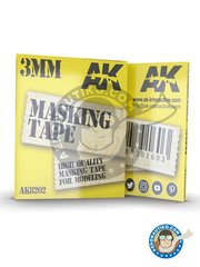 AK Interactive: Masks - Masking tape 3mm - paint masks - for all kits