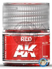AK Interactive: Real color - Red. 10ml - for all kits