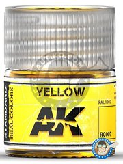 AK Interactive: Real color - Yellow. RAL 1003. 10ml - for all kits