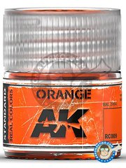 AK Interactive: Real color - Orange RAL 2004. 10ml - for all kits