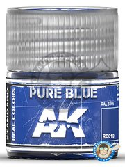 AK Interactive: Real color - Pure blue. RAL 5005. 10ml - for all kits
