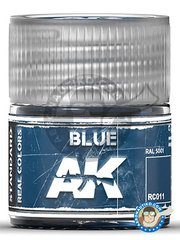 AK Interactive: Real color - Blue. RAL 5001. 10ml - for all kits