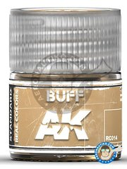 AK Interactive: Real color - BUFF. 10ml - for all kits