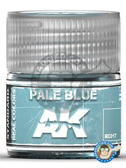 AK Interactive: Real color - Pale blue. 10ml - for all kits