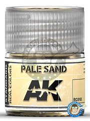 AK Interactive: Real color - Pale sand. 10ml - for all kits