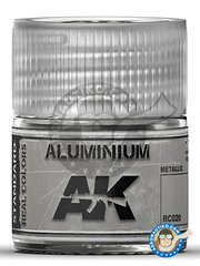 AK Interactive: Real color - Aluminium. 10ml - for all kits