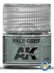 AK Interactive: Real color - Pale grey. 10ml - for all kits