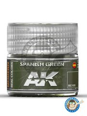 AK Interactive: Real color - Spanish green. - 10ml jar - for all kits