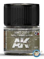 AK Interactive: Real color - MNO 2036 Smalt Khaki Avion. 10ml - for all kits