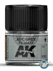 AK Interactive: Real color - ADC Grey FS 16473. 10ml - for all kits