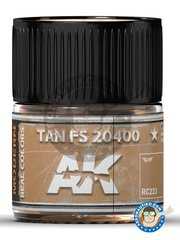 AK Interactive: Real color - TAN FS 20400. 10ml - for all kits