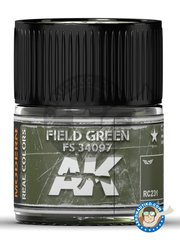 AK Interactive: Real color - Field green. FS 34097 - for all kits