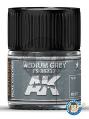 AK Interactive: Real color - Medium grey FS 35237. 10ml - for all kits