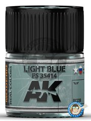 AK Interactive: Real color - Light Blue FS 35414  - 10ml jar - for all kits