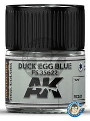 AK Interactive: Real color - Duck egg blue. Light blue. FS 35622. 10ml - for all kits