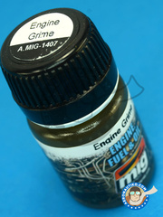 AMMO of Mig Jimenez: Enamel paint - Engine Grime - 30ml - for all kits