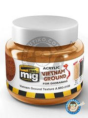 AMMO of Mig Jimenez: Pigments - Vietnam ground - for all kits, dioramas or scenes