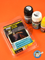 AMMO of Mig Jimenez: Paints set - WW II USA interiors color set - Cockpit set - for all kits image