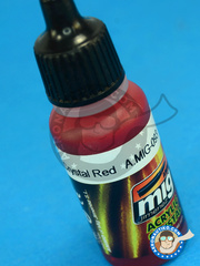 AMMO of Mig Jimenez: Acrylic paint - Crystal Red - 17ml image